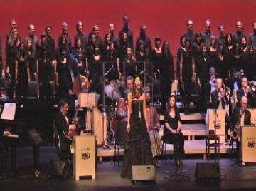 Els poemes d'Espriu ressonen a ritme de jazz a les parets del Teatre-Auditori