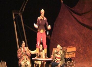 El muntatge 'Limbus' homenatja el pallasso més tradicional al Teatre-Auditori