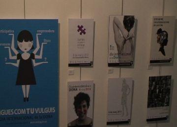 Sant Cugat inicia els actes del Dia de la dona amb dues exposicions a l'Escola d'Art i Disseny