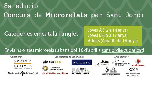 Ja es coneixen els guanyadors del Concurs de Microrelats de Cugat.cat