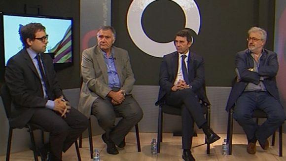 Pros i contres de la independència en un debat a Cugat.cat a una setmana del 9N