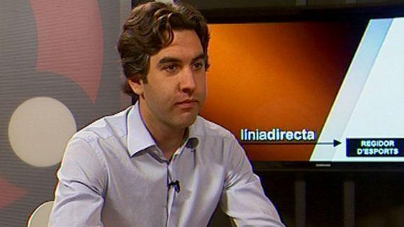 Xavier Tizón: 'Amb les pròrrogues de l'OMET no incorríem en una il·legalitat'
