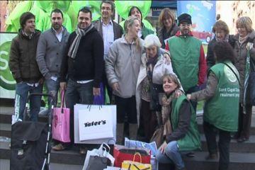 Cinc afortunats gasten 1.000 euros en menys d'una hora gràcies a Sant Cugat Comerç