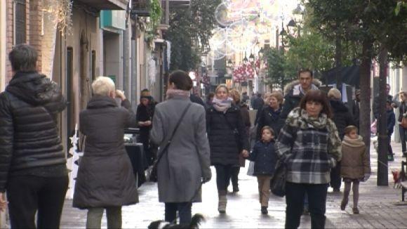 Els comerços santcugatencs encaren la campanya de Nadal amb optimisme