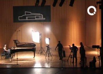 La pianista Cristina Casale rellança la seva carrera amb un vídeo enregistrat al Teatre-Auditori