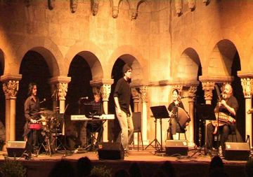 Hekàteros omplirà de música de pel·lícules el claustre del Monestir