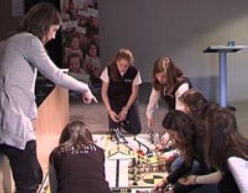 Alumnes de la Vall participen a Atlanta en un campionat internacional de robòtica