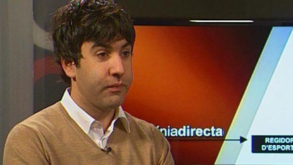 Tizón (regidor d'Esports): 'No està previst arranjar les goteres del pav 1 aquest estiu'