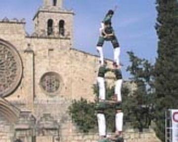 Els Gausacs descarreguen la torre de 7 i converteixen la diada de Festa Major en la millor de la seva història