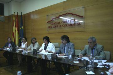 El Consell Comarcal redueix les àrees de treball i les comissions informatives per al mandat