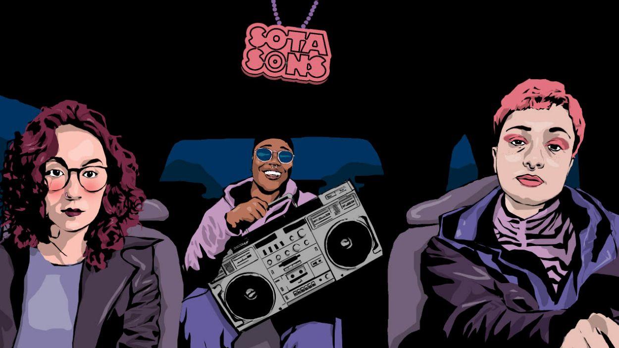 Fotograma de la pel·lícula d'animació 'Sotafoc' / Foto: Sotasons