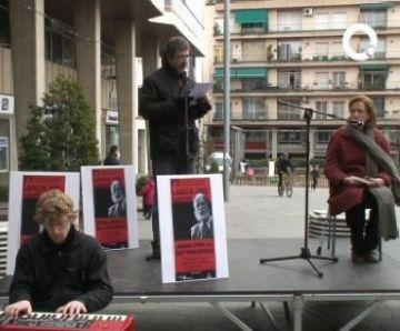 La Diada de la No Violència ret homenatge a Lanza del Vasto amb poemes musicats