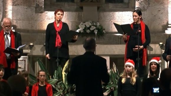 El 'Nadal a casa' d'Òmnium Cultural aplega 150 persones en el desè aniversari