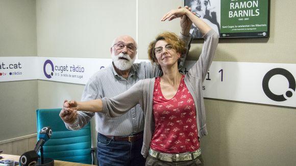 L'actriu Gisela Figueras visita el 'Molta Comèdia' per parlar de l'espectacle 'Ave Machín!'