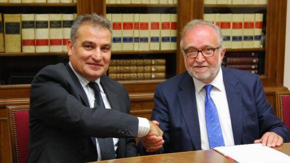 La Cambra i SCE signen un conveni per impulsar l'emprenedoria