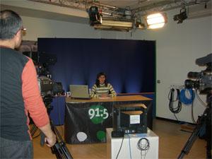 Cugat.cat organitza un curs de presentadors de televisió
