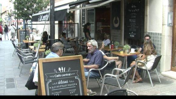 La majoria dels restauradors, contents de l'estiu malgrat les pluges d'agost