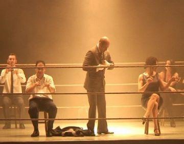 'Urtain' deixa KO el públic del Teatre-Auditori amb una obra vibrant i colpidora
