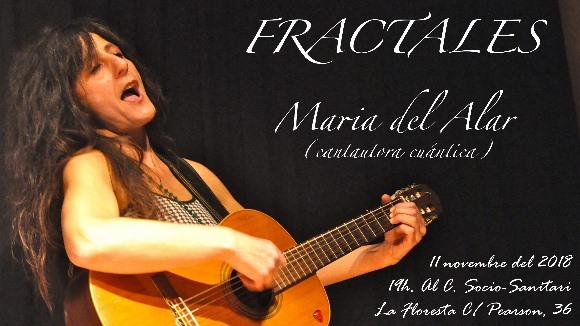 Concert: 'Fractales', de Maria  del Alar