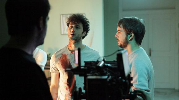 La Casa Jaumandreu i el Teatre-Auditori acullen el rodatge del film 'Framed', terror amb segell de Sant Cugat