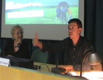 Francesc Mauri explica les conseqüències del canvi climàtic a l'Arxiu Nacional de Catalunya