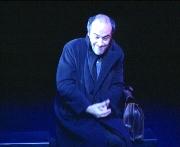 Orella, en una obra de teatre