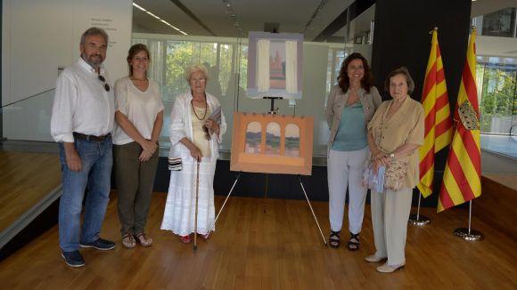 La família del pintor Francesc Casademont dóna vuit pintures al Fons Municipal d'Art
