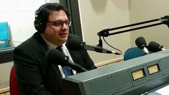L'eurodiputat d'Unió, Francesc Gambús, defensa el paper de la UE en una visita a Sant Cugat