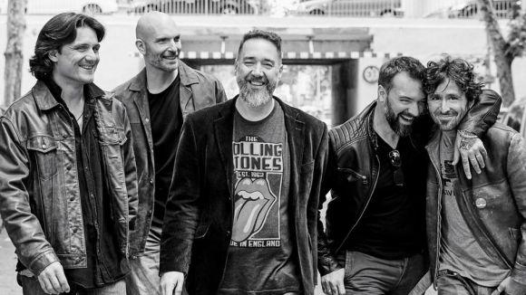 Frank Montasell, segon per la dreta, és el guitarrista del grup / Foto: Sol Lagarto