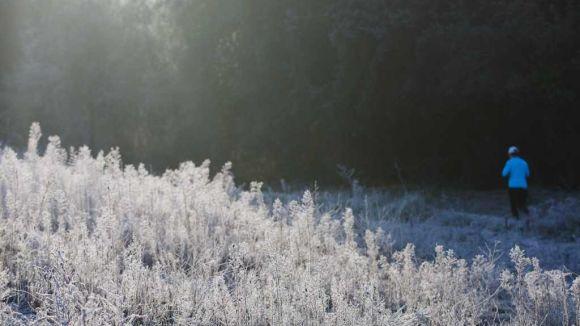 Marcat descens de les temperatures a Sant Cugat, amb mínimes de dos graus aquest diumenge