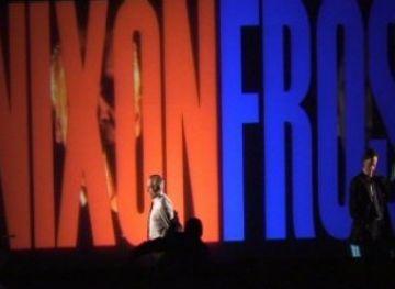 El combat de boxa entre Nixon i Frost destaca per la intepretació dels dos protagonistes i l'ús dels primers plans