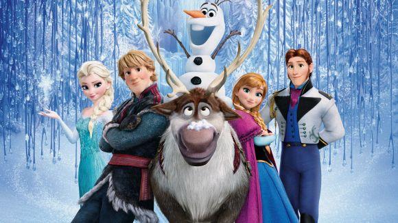 Cartell amb els personatges del film