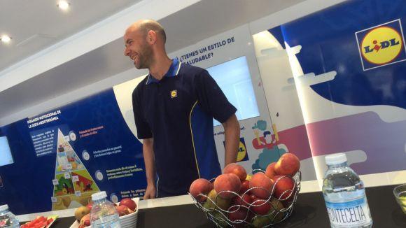 Arriba avui a Sant Cugat la campanya d'alimentació saludable Frutitour