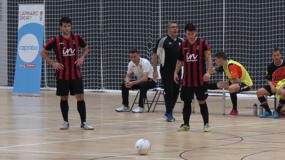 El FS Sant Cugat perd amb contundència davant el Premià de Mar en un final de partit accidentat