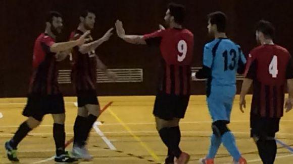 El Futbol Sala Sant Cugat es fa fort a casa per superar l'AECS L'Hospitalet