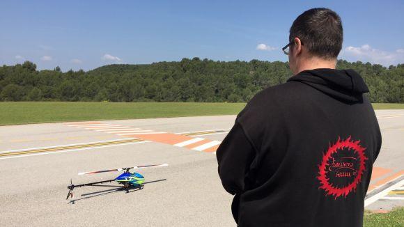 Els helicòpters sorprendran Sant Cugat aquest cap de setmana a la Trobada Internacional Fun Fly
