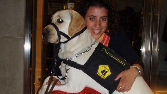 La Fundació Bocalan treballa ensinistrant gossos per a persones amb discapacitats / Font: Fundaciobocalan.cat