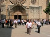 La cerimònia, que s'ha fet al Monestir, ha estat oficiada pel mossèn de Mira-sol, Jordi Peña