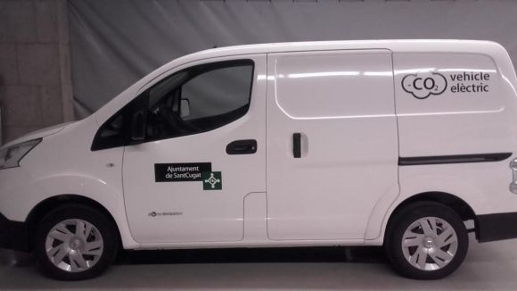 L'Ajuntament incorpora una furgoneta 100% elèctrica a la flota municipal