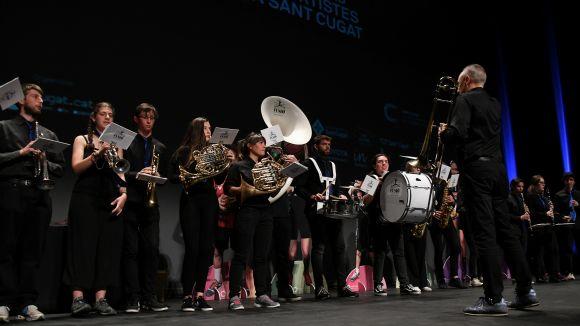 La música i la dansa dels Premis Esport en Marxa: l'Escola Fusió dilueix l'art amb l'esport