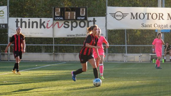 Un femení del Sant Cugat FC farcit de baixes supera la UE Sant Andreu i encadena dos triomfs seguits