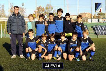 L'aleví A del Junior ascendeix a Primera Divisió, màxima categoria del futbol català