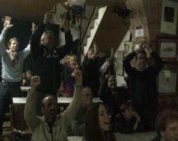 Sant Cugat vibra amb la maneta del Barça al Madrid