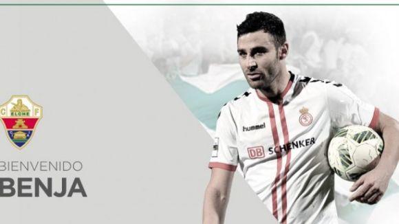 L'Elx ha anunciat el fitxatge de Benja pel conjunt alacantí / Font: CF Elche