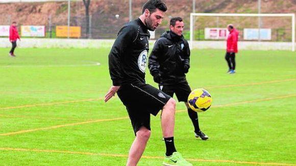 Benja: 'No vull precipitar-me, tornaré a jugar quan el meu genoll estigui preparat'