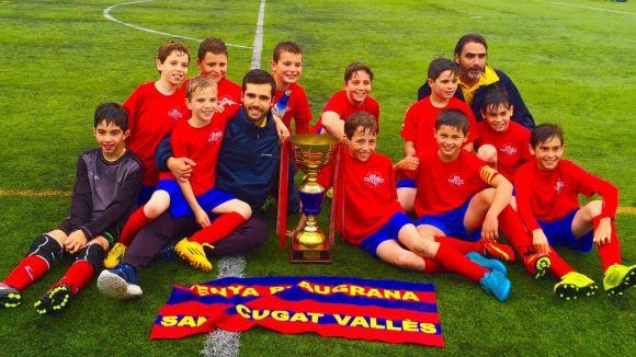 El benjamí A de la Penya Blaugrana Sant Cugat puja a Primera Divisió