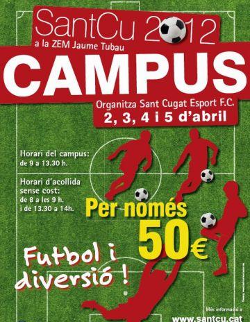 El SantCu organitza un nou Campus de futbol per Setmana Santa