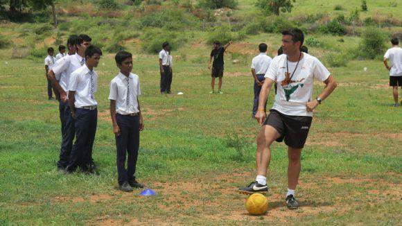 El Campus Sant Cugat - Índia, un dels projectes finançats amb el 0,7 del pressupost