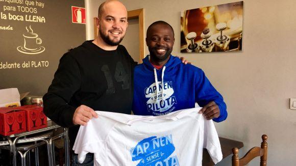 Aleix Giol, a l'esquerra, és l'impulsor del projecte / Foto: Aleix Giol