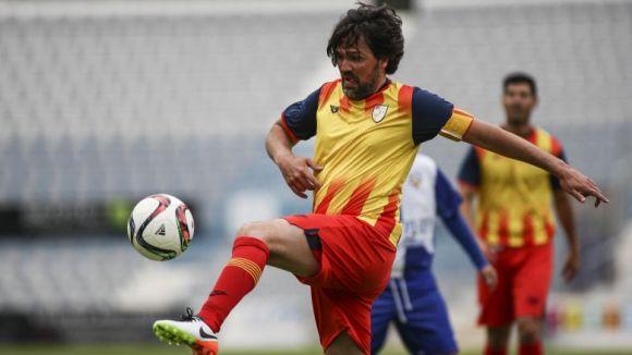 Roger Garcia, membre de la selecció catalana de veterans / Font: Fcf.cat